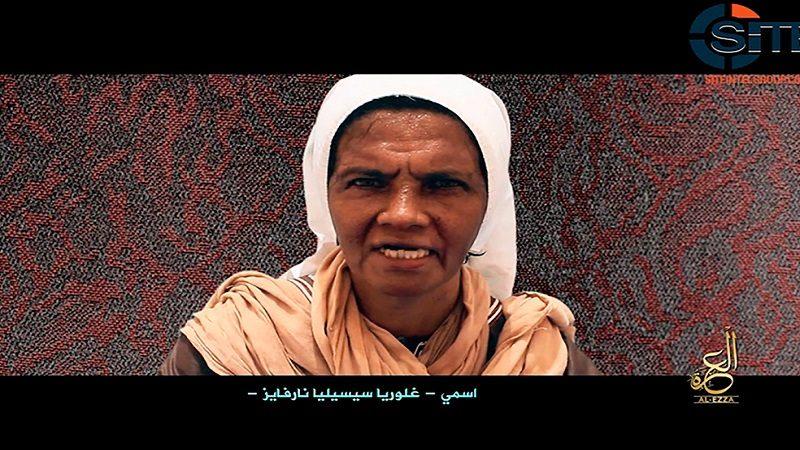 Al Qaida difunde prueba de supervivencia de monja colombiana secuestrada