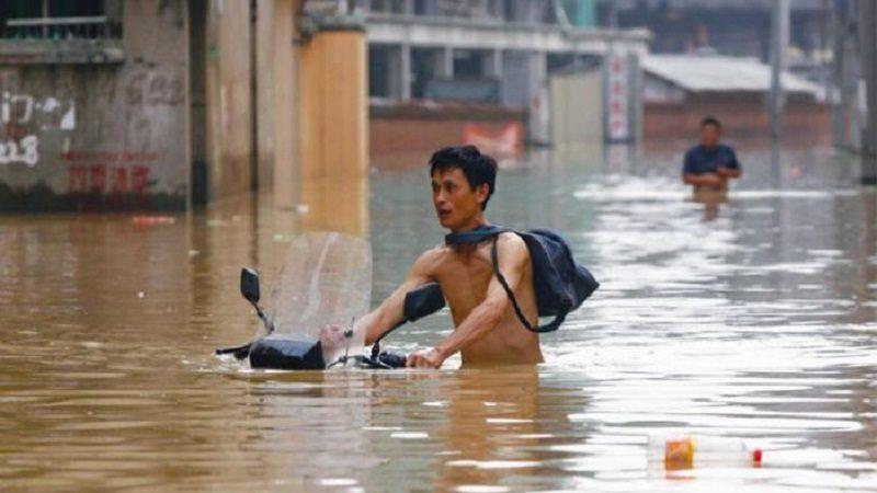 Al menos 56 muertos y 22 desaparecidos tras fuertes lluvias en China