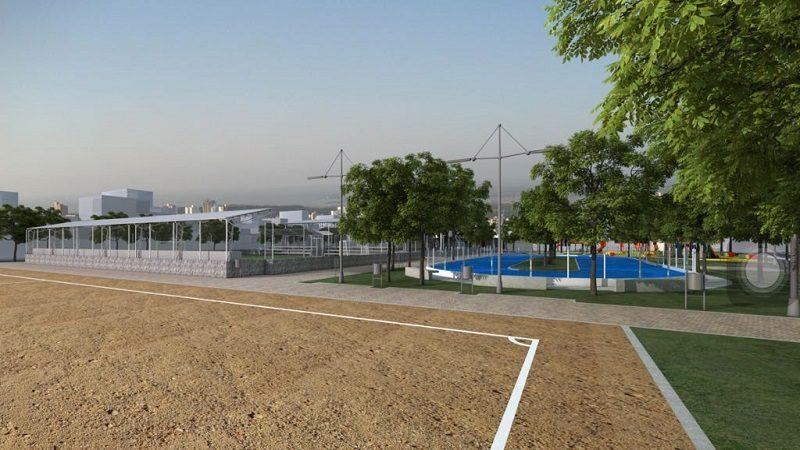 Anuncian la remodelación de 15 parques de Soledad