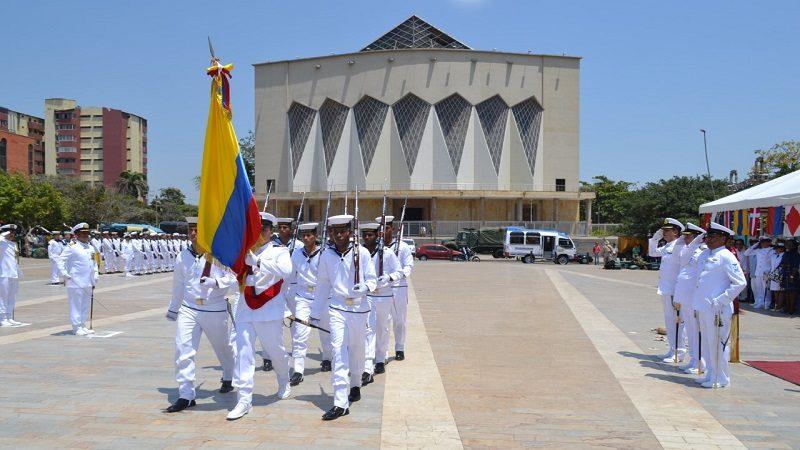 Barranquilla conmemora los 194 años de la armada nacional