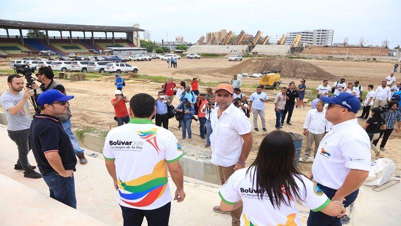 Barranquilla, ejemplo para construir escenarios de los Juegos Nacionales Bolívar 2019
