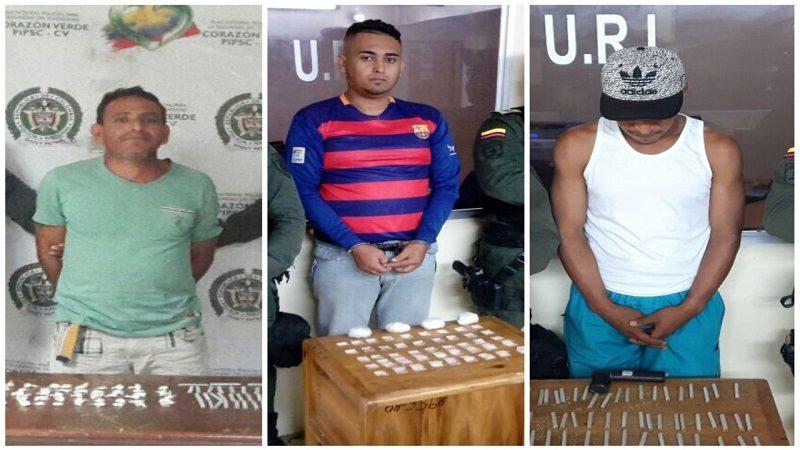 Caen tres vendedores de droga en El Silencio y La Central de Soledad