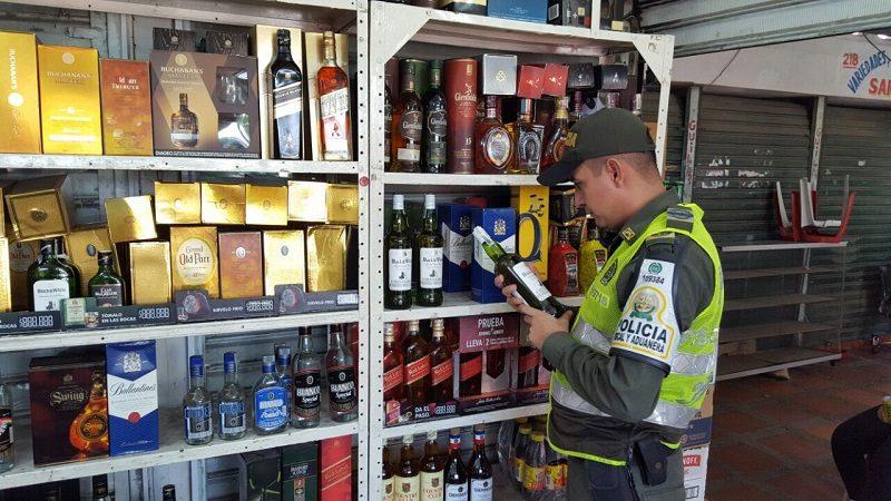 Incautan licor, zapatos, baterías de celulares y hasta gorras de contrabando en Barranquilla