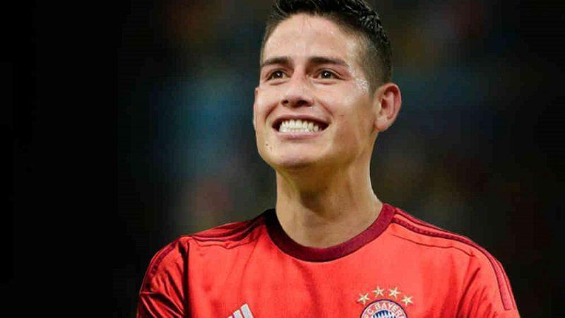 James Rodríguez, nuevo jugador del Bayern Múnich