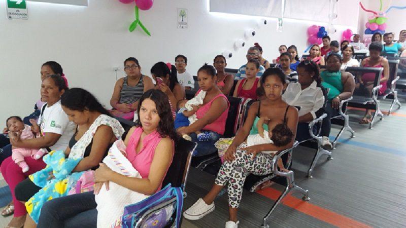 Lactancia materna, prioridad para el desarrollo óptimo de los niños de Barranquilla