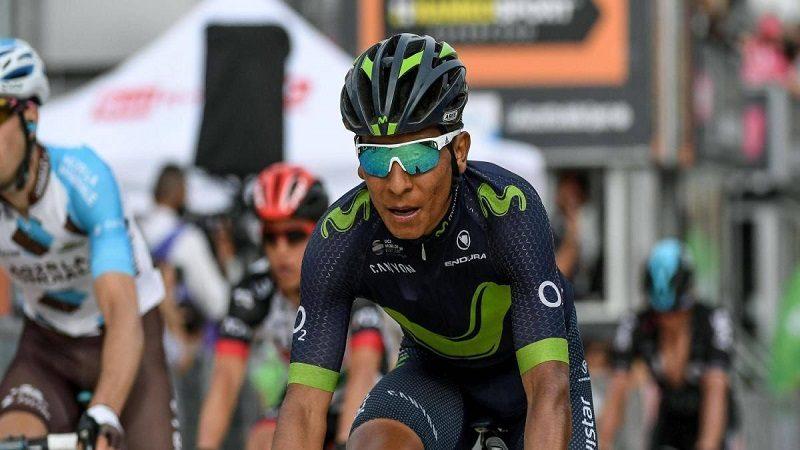 Nairo Quintana volvió al top 10 del Tour de Francia, en la etapa 16
