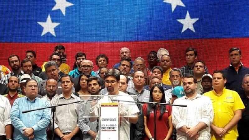 Oposición venezolana anuncia paro cívico para este jueves