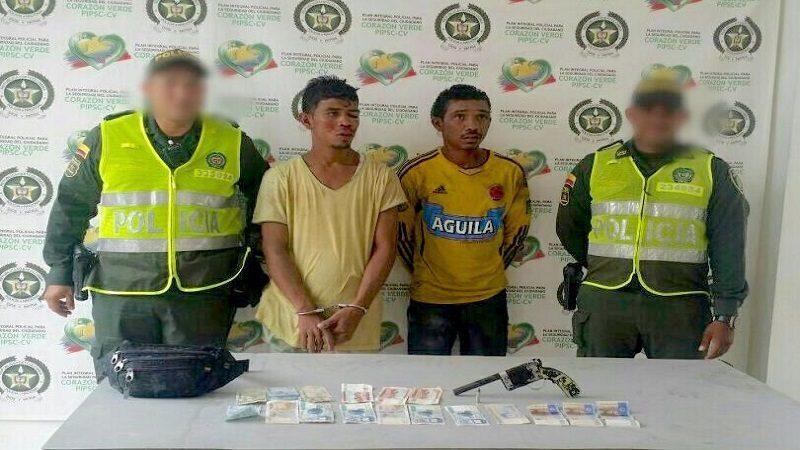 Policía capturó a cuatro atracadores en La Magdalena, Rebolo y Malambo