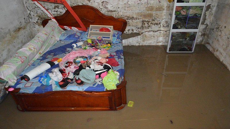 Se desbordó un arroyo en Malambo e inundó más de 200 viviendas