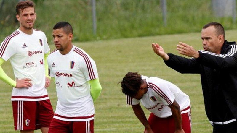 Selección de Venezuela se alista para enfrentar a Colombia el 31 de agosto