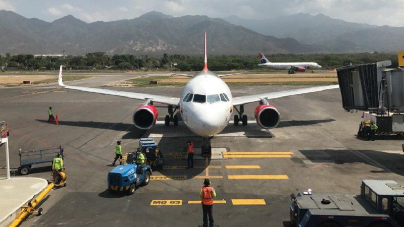 Aeropuerto de Santa Marta estrena vuelo directo a Cali
