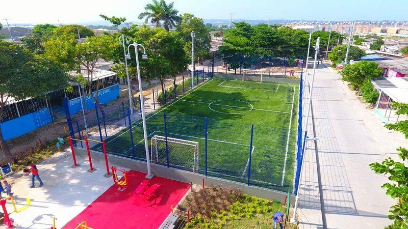 Alcalde Char entrega parque de más de 2 mil metros cuadrados en el barrio Villa San Carlos
