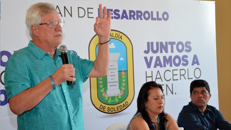 Alcalde de Soledad convoca al Concejo a sesiones extras