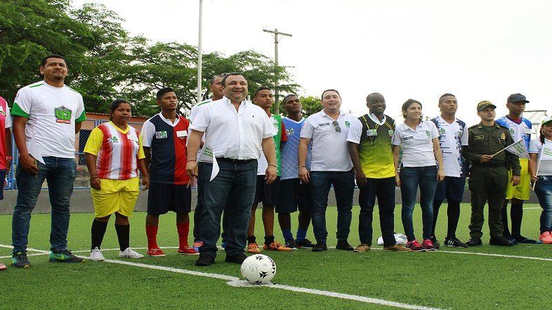 Arranca el II Campeonato de Fútbol con Valores