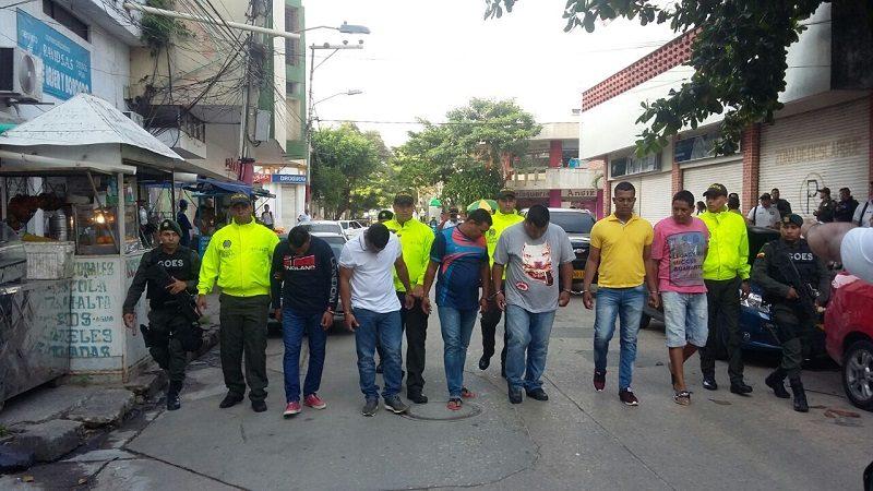 Así fue desarticulada la banda 'Los Rastrojos de a 10' en Barranquilla