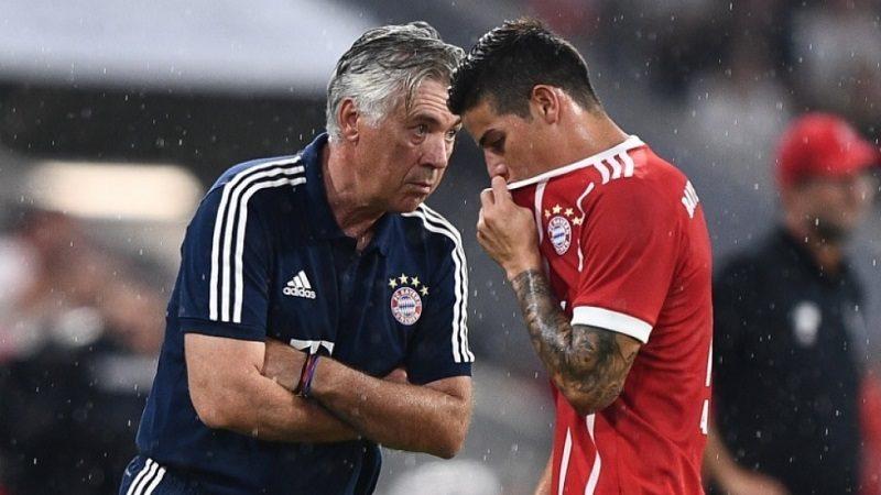 Bayern Múnich confirma que James no podrá jugar contra Venezuela, por su lesión