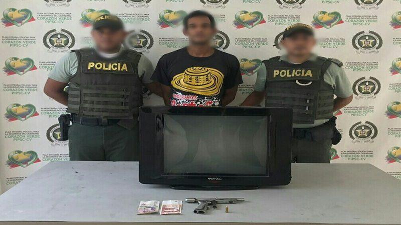 Capturan a dos atracadores y un expendedor de droga en Barranquilla y Malambo