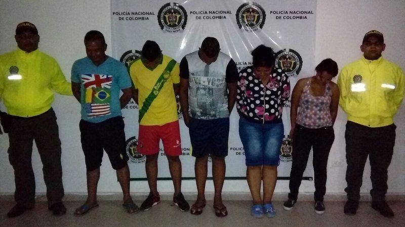 Capturan a padre e hijos vendiendo droga en Sabanalarga