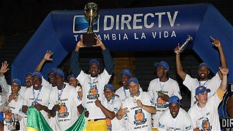 Cimarrones, campeón de la Liga Colombiana de Baloncesto