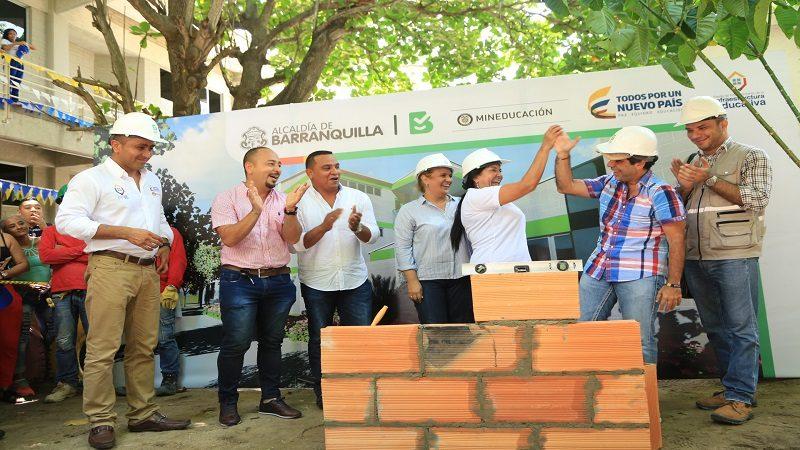 Comienza remodelación del colegio María Cano del barrio Las Palmas