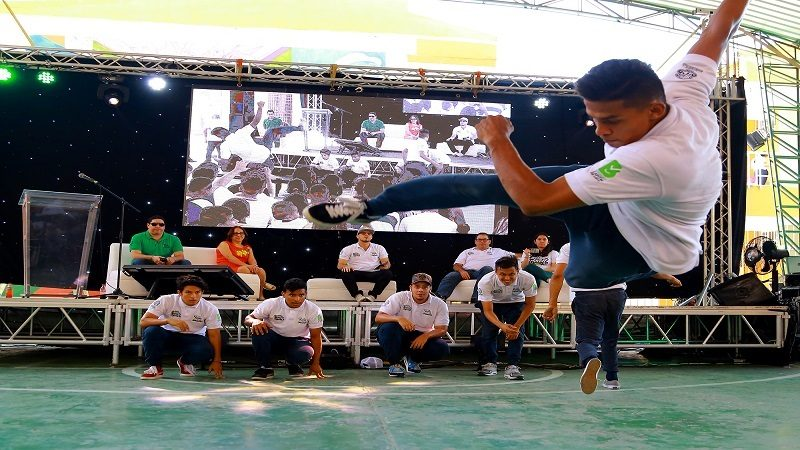 Con Quillajoven se inició mes de la juventud en Barranquilla