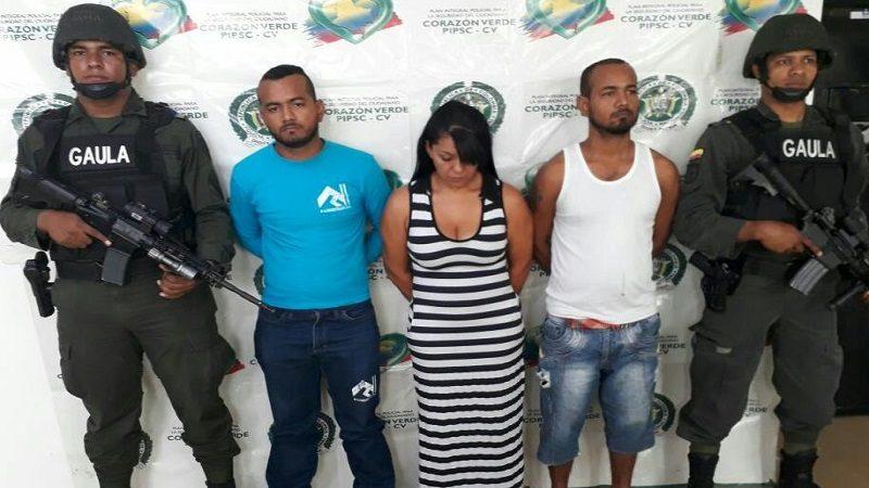 Desmantelan banda dedicada a la extorsión, al servicio de Digno Palomino en Barranquilla