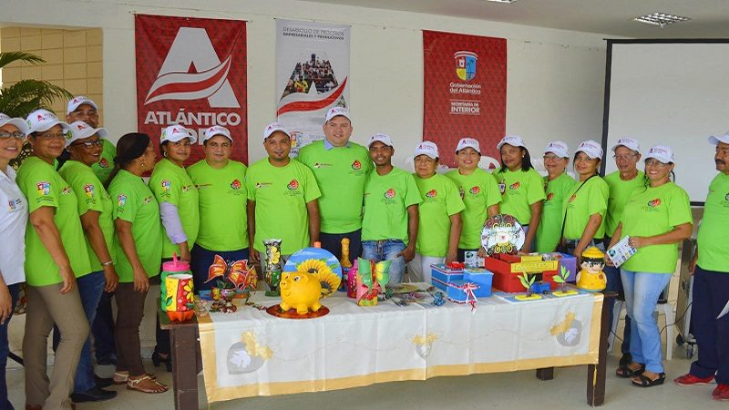 En marcha primera unidad productiva de reciclaje en el sur del Atlántico