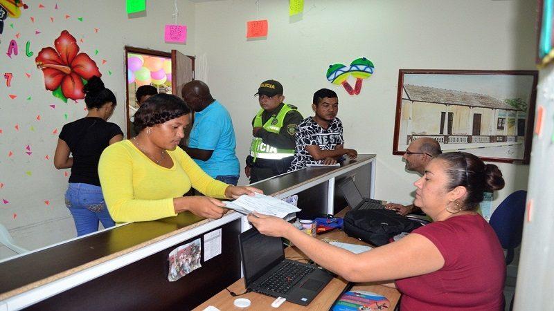 Este lunes, 458 No bancarizados reciben pago de Más Familias en Acción en Malambo