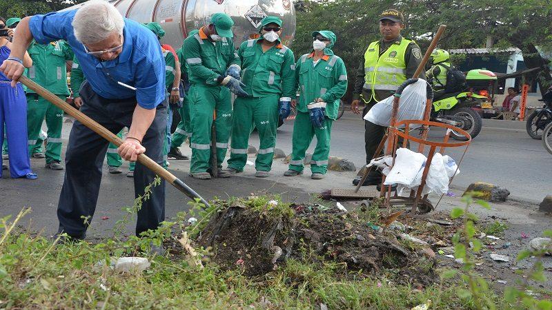 Este viernes, Alcaldía de Soledad realiza jornada de limpieza en el barrio Cruz de Mayo