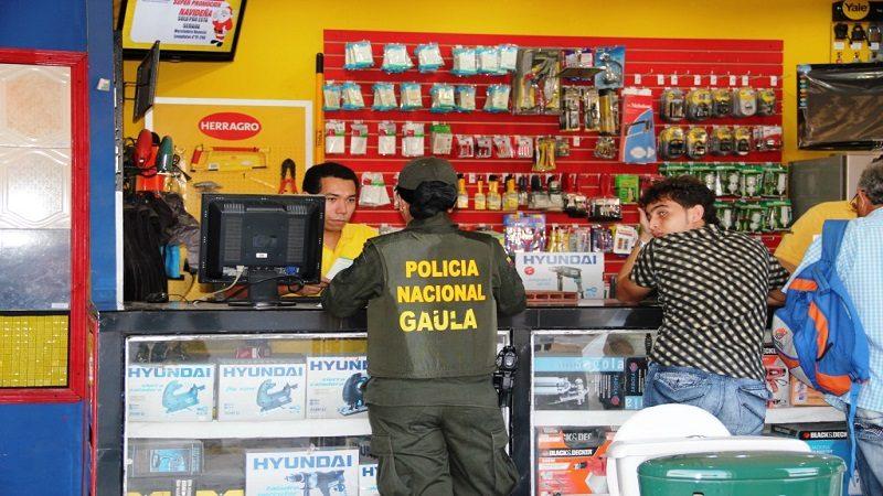 Gaula de la Policía realiza campaña contra la extorsión en municipios del Atlántico