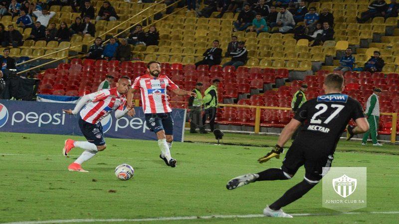Junior empató 0-0 con Millonarios en Bogotá