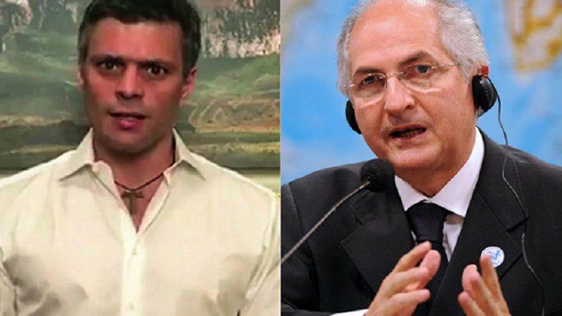 Leopoldo López y Antonio Ledezma planeaban fugarse