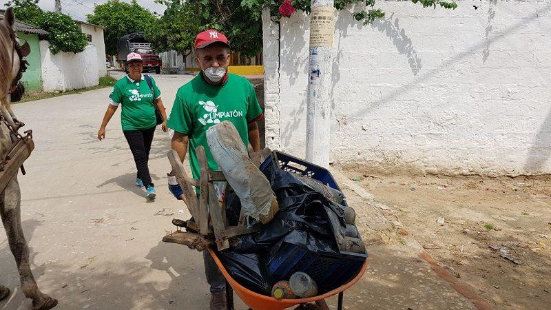 'Limpiatón' en el barrio Cruz de Mayo de Soledad benefició a más de 1.500 familias