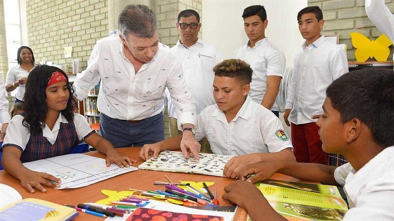 Nuevo megacolegio 'Gabriel García Márquez' beneficiará a 1.200 estudiantes de Cartagena