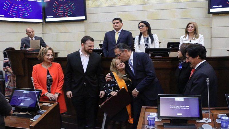 Presidente del Senado exalta labor de la ex ministra Elsa Noguera