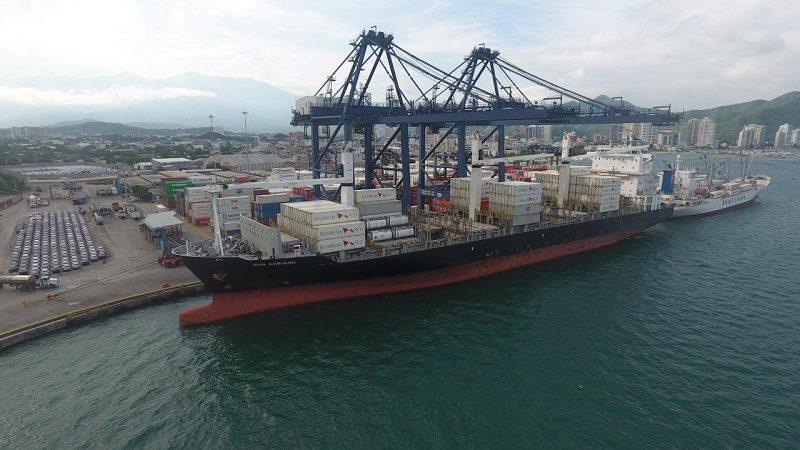 Puerto de Santa Marta, con nueva frecuencia de Hamburg Süd para exportación de productos nacionales