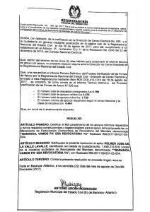 Registraduría niega revocatoria contra alcalde de Baranoa, Lázaro Escalante 2