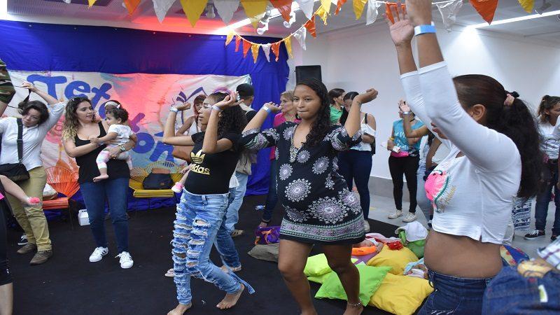 Tetatón saca pecho por las mujeres gestantes y lactantes de Barranquilla