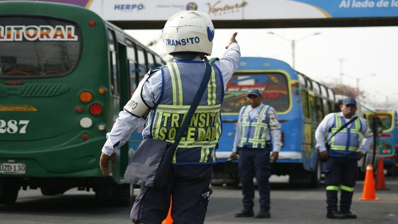 Tránsito de Soledad refuerza operatividad con 40 agentes de la Policía Nacional