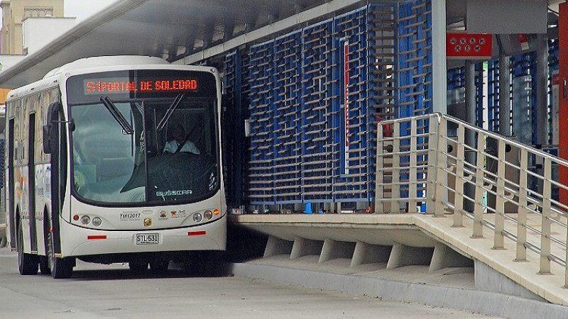 Transmetro operará con normalidad para partido Junior – Cali, este jueves