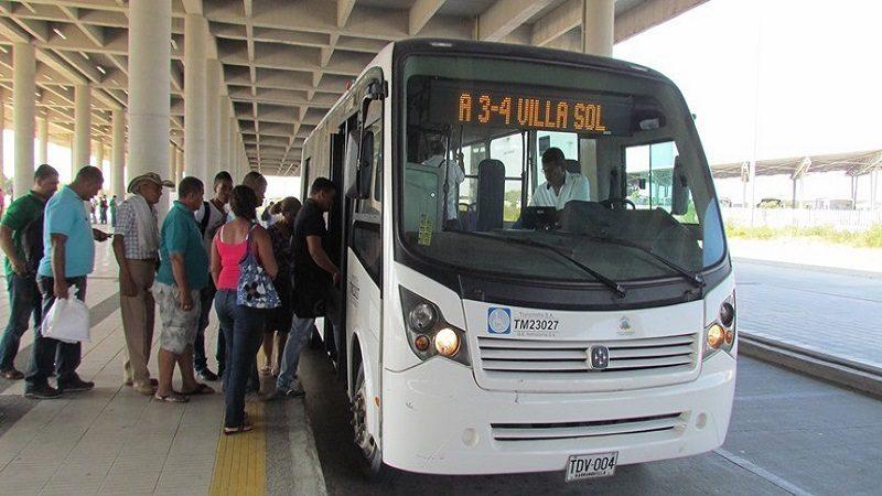 Transmetro reactiva ingreso de rutas alimentadoras al barrio Villa Karla