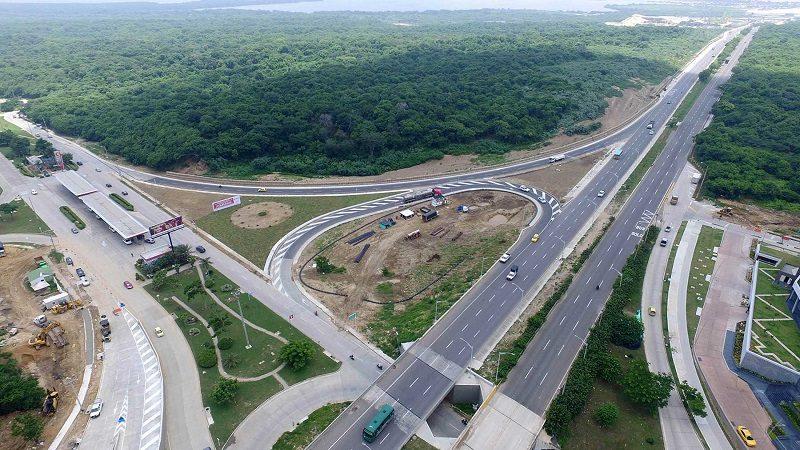 Usuarios resaltan obras de mejoramiento de la vía Puerto Colombia-Barranquilla