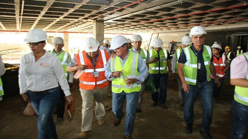 Avanzan obras de modernización del aeropuerto Ernesto Cortissoz de Barranquilla