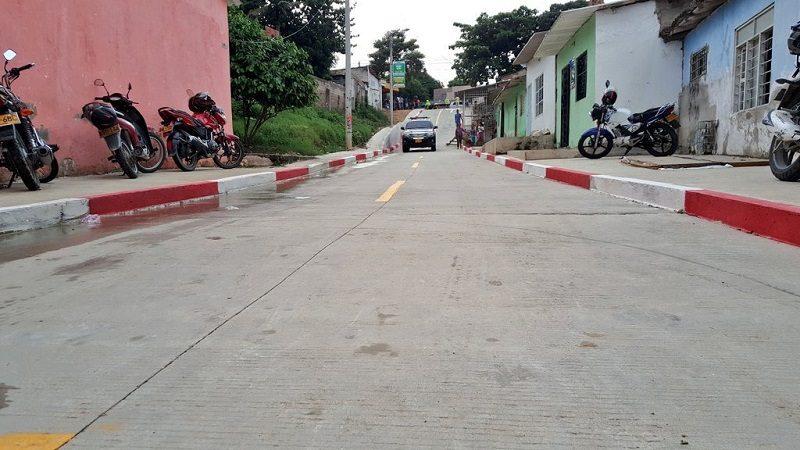 Barrio La Sierrita estrena vías que costaron más de $20 mil millones