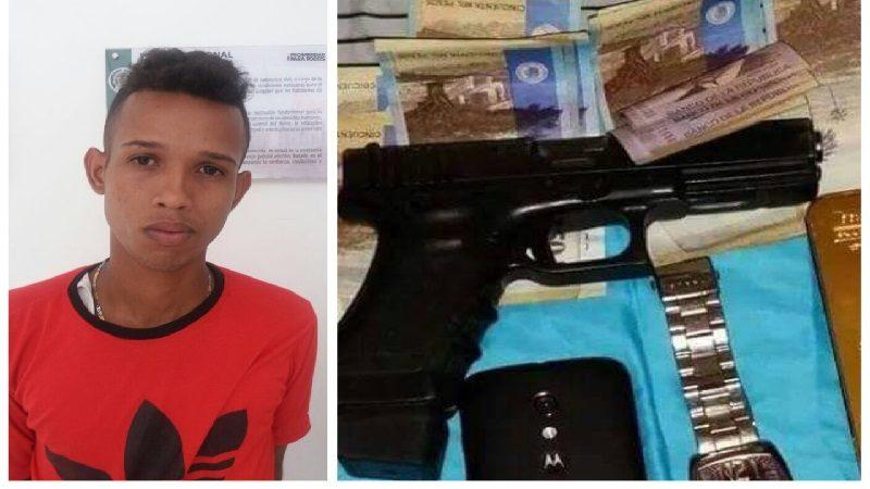 Cae atracador que publicaba en Facebook las fotos con los elementos que hurtaba a sus víctimas