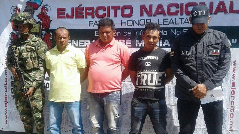 Caen a tres hombres que se habían robado un camión cargado de cilindros de gas en Santa Marta