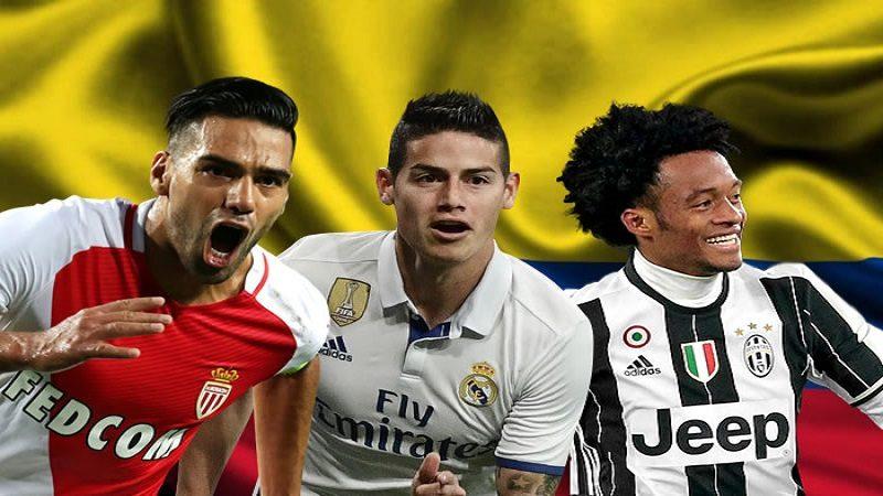 Colombia, tercer país latinoamericano con más jugadores en la Champions