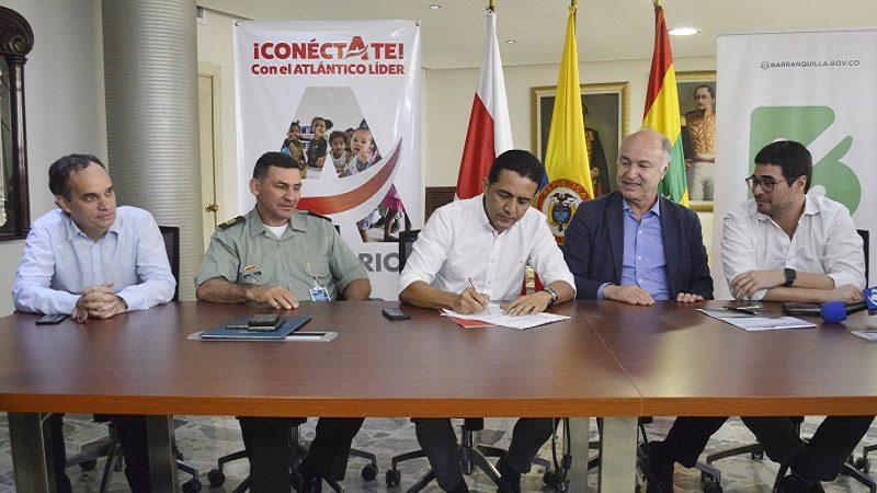 Firman convenio en Barranquilla para acabar con hacinamientos en cárceles