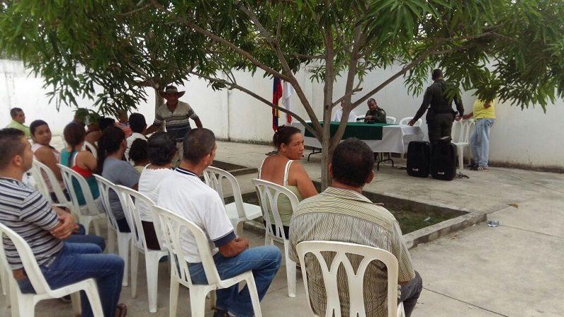 Inauguran Frente de Seguridad rural en el corregimiento de Martillo