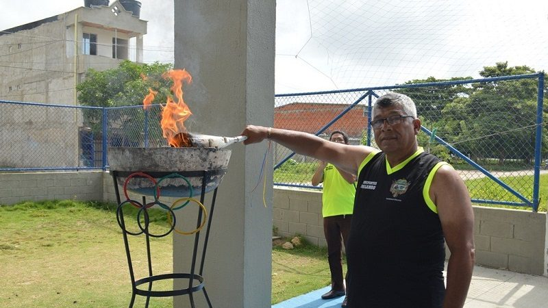 Inauguran juegos deportivos del magisterio 2017, fase municipal, en Malambo